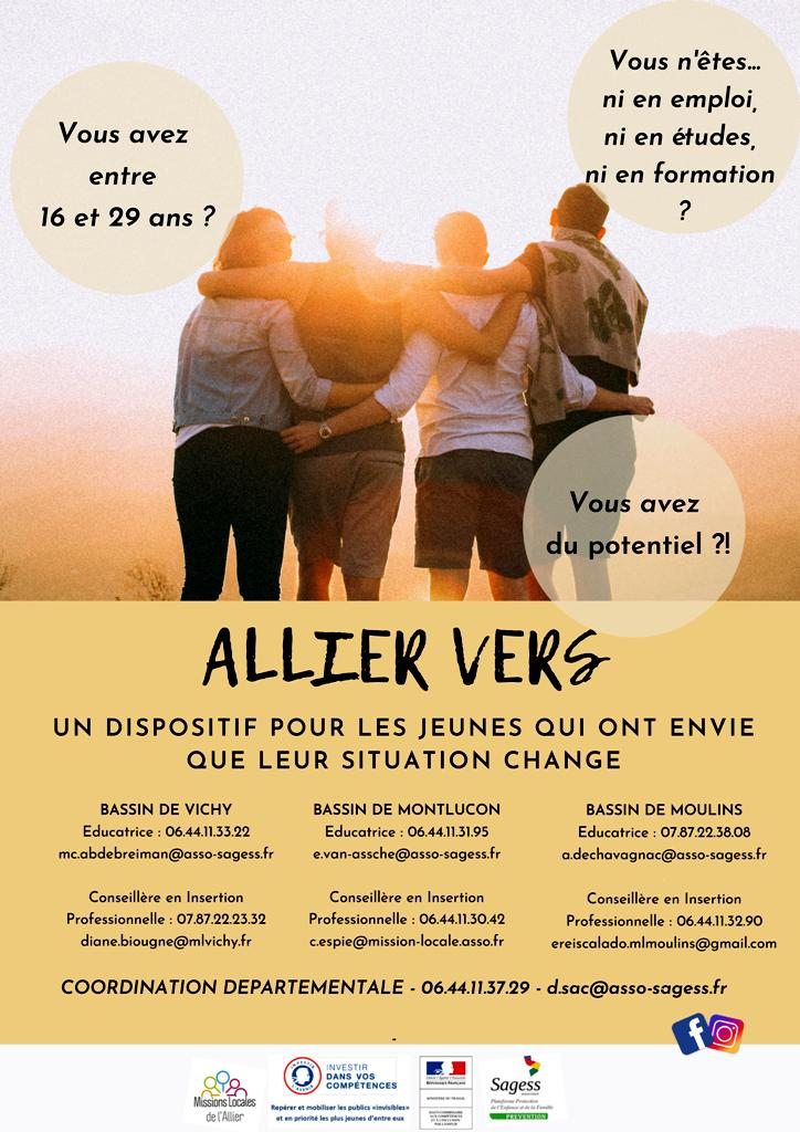 Dispositif Allier vers